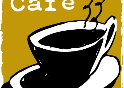 Kaptur Design - Alive Cafe Logo