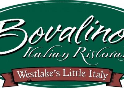 Kaptur Design - Bovalino's Italian Ristorante Westlakes Little Italy Logo