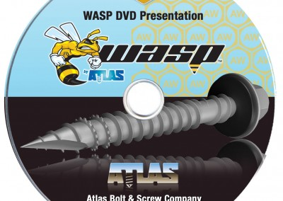 Kaptur Design - Atlas Bolt WASP DVD Cover