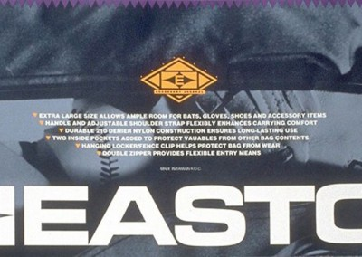 Kaptur Design - Easton Bag Label