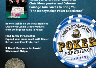 Kaptur Design - The Moneymaker Poker Experience by Osborne