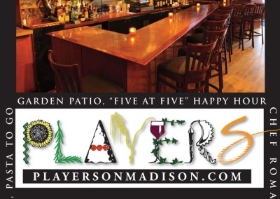 Kaptur Design - Players on Madison Ad
