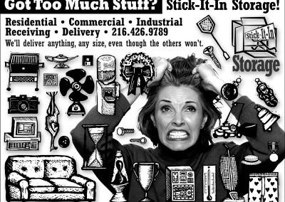 Kaptur Design - Stick It In Storage Ad