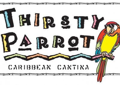 Kaptur Design - Thirsty Parrot Card