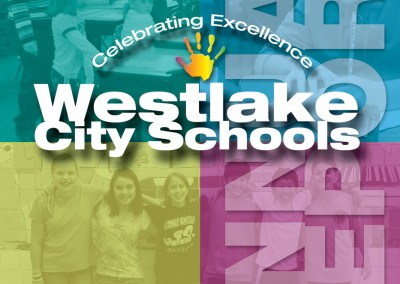 Kaptur Design - Westlake City Schools Annual Report Cover