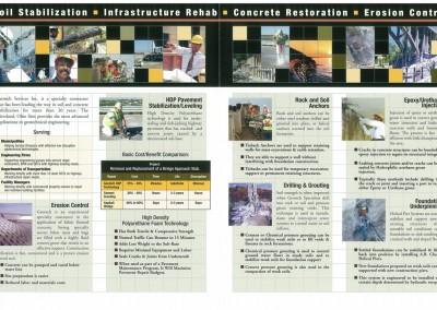 Kaptur Design - Geotech Capabilities Brochure Interior