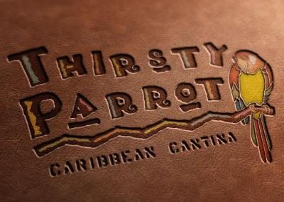 Kaptur Design Thirsty Parrot Logo