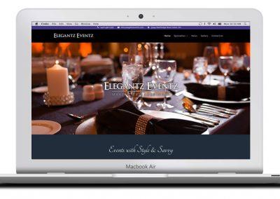 "Kaptur Design - <a href=""http://www.elegantzeventz.com/"" target=""_blank"">Elegantz Eventz</a>"