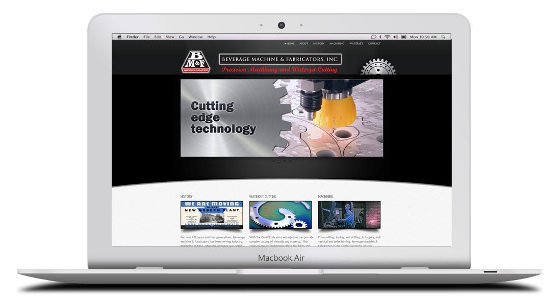 Kaptur Design - Beverage Machine & Fabricators Website Design