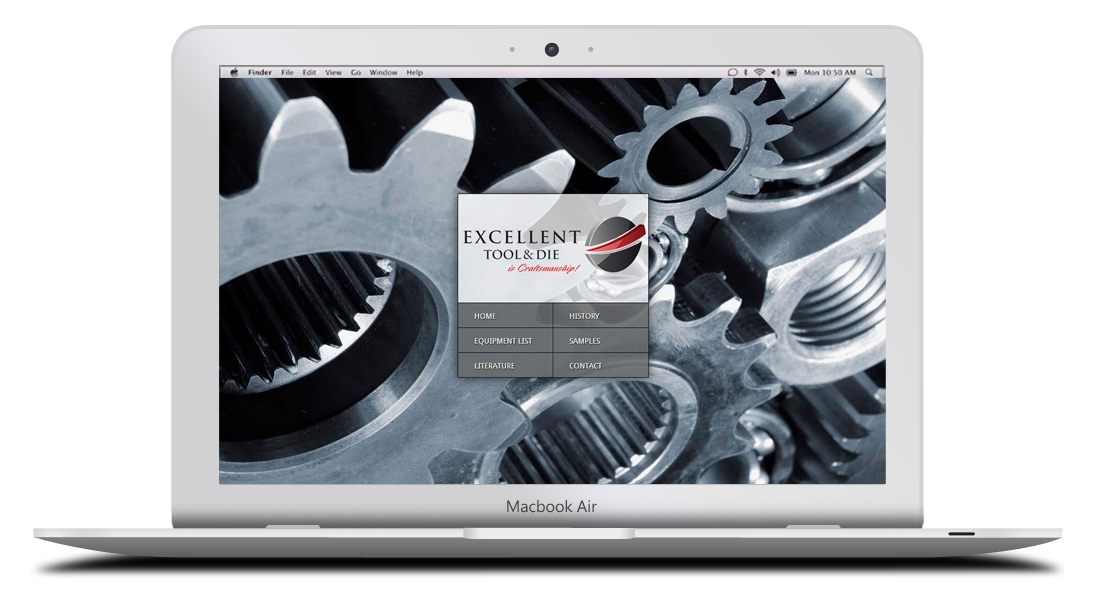 Kaptur Design - Excellent Tool & Die Website Design